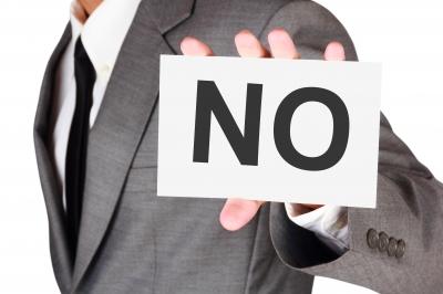 Dizer não