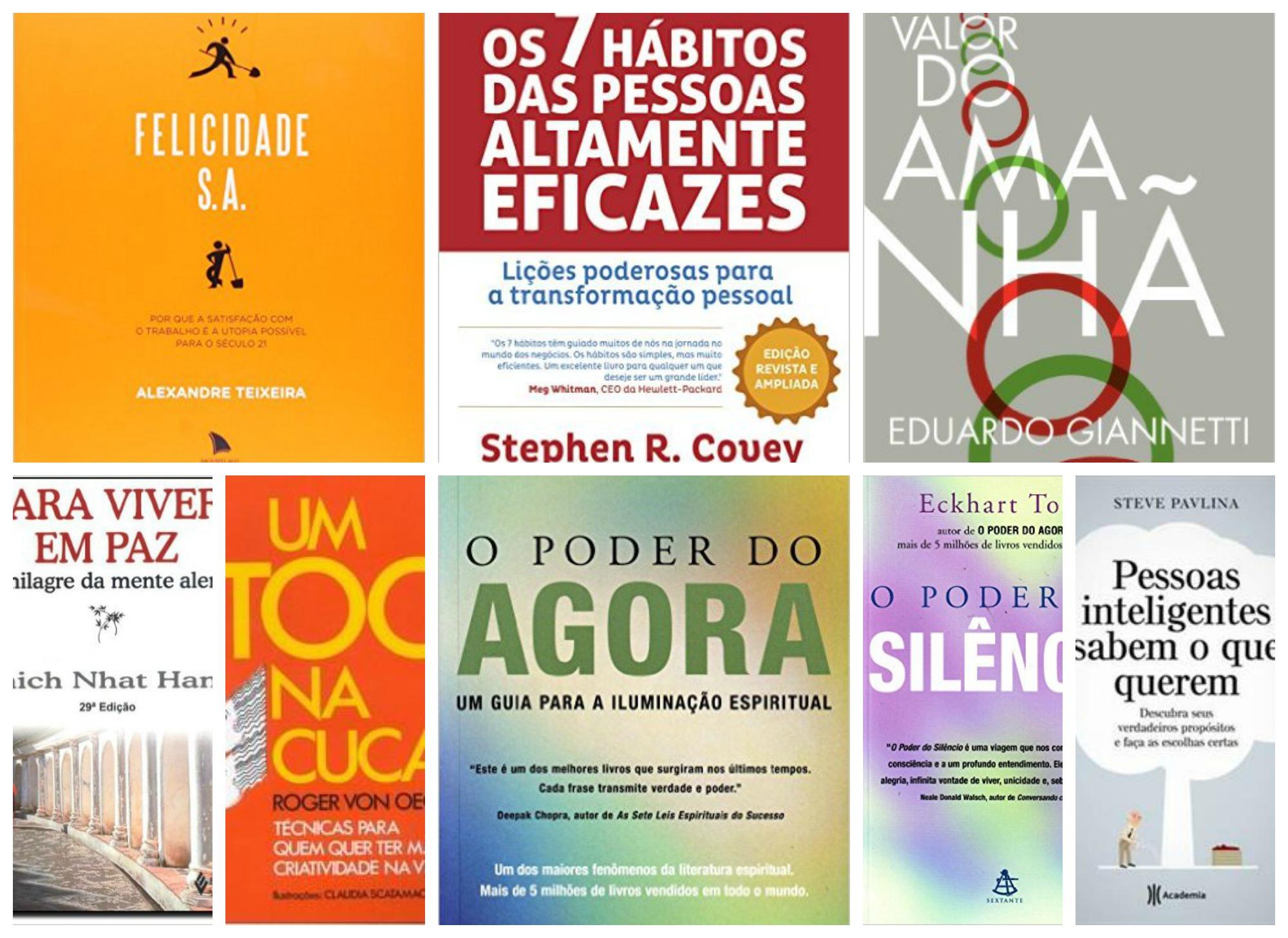 10 livros desenvolvimento pessoal