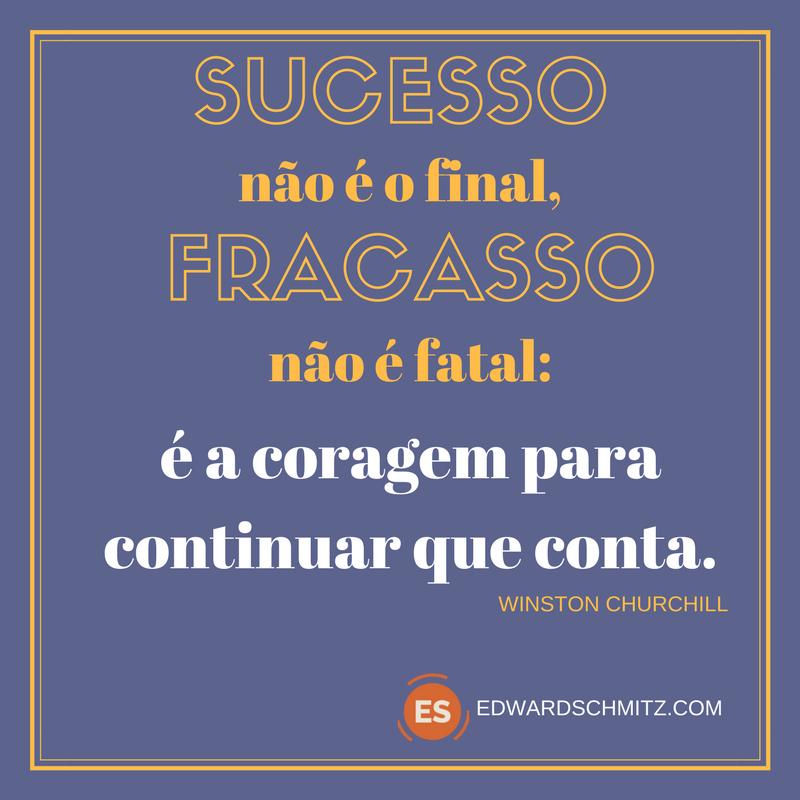 Sucesso fracasso Churchill